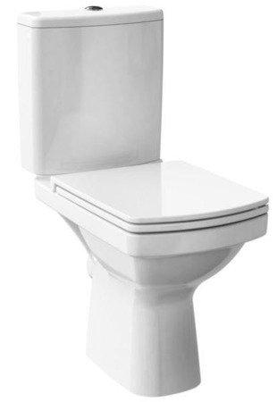 Kompakt WC 600 easy new clean on 011 3/5 deska duroplastowa wolnoopadająca  K102-029 Cersanit