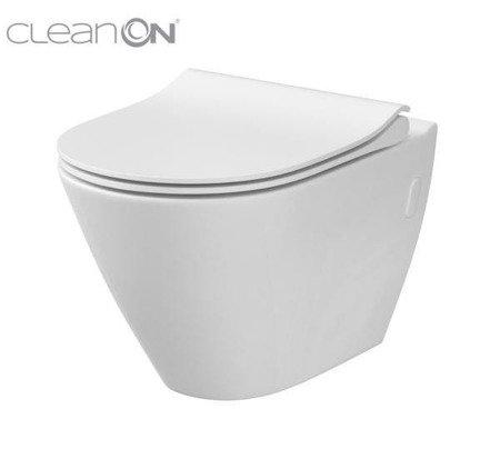 Miska WC zawieszana  City Oval new cleanon bez deski  K35-025 Cersanit